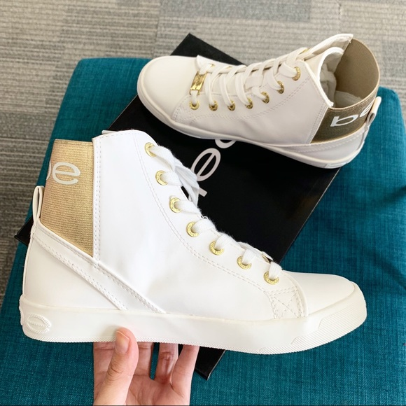 2ac2dccb617ae bebe Shoes | White Dempsey High Top | Poshmark